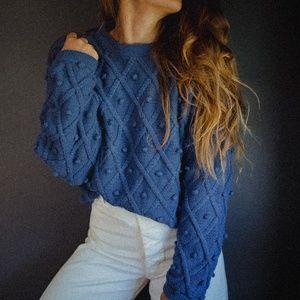 Vintage Pom Pom Sweater